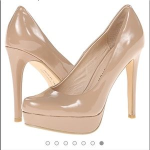 Chinese Laundry sz 5 nude Platform Dress Pumps NWT
